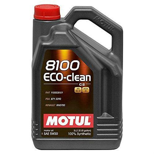 MOTUL 8100 ECO-CLEAN 5W30 x5L