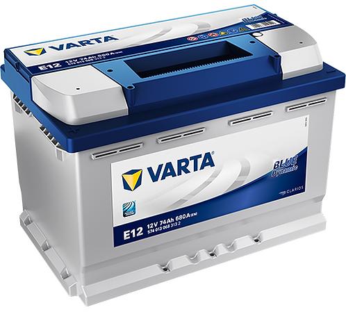 Акумулатор VARTA Blue Dynamic 574 013 068