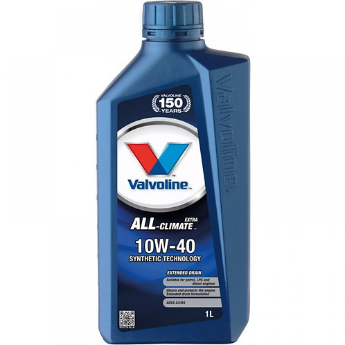VALVOLINE ALL CLIMATE EXTRA 10W40 x1L