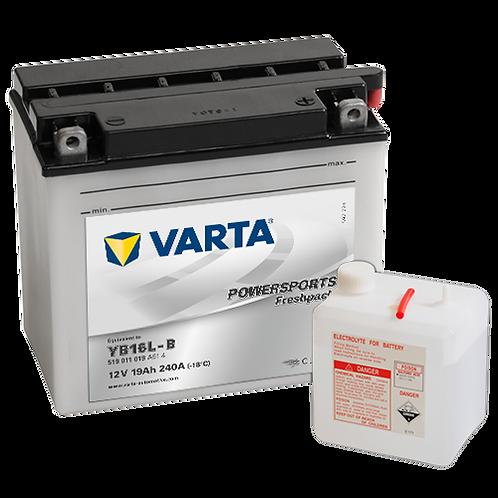Акумулатор VARTA POWERSPORTS Freshpack 519 011 019 YB16L-B