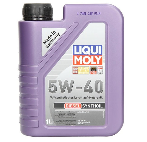 LIQUI MOLY Diesel Synthoil 5W40 x1L
