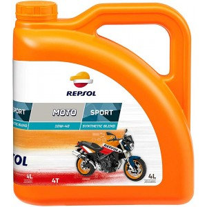 REPSOL MOTO SPORT 4T 10W40 x4L