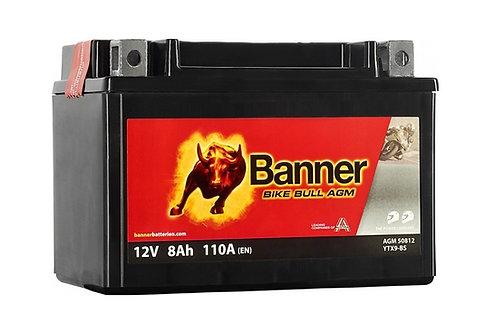 Акумулатор BANNER BIKE Bull AGM 508 12 / YTX9-BS