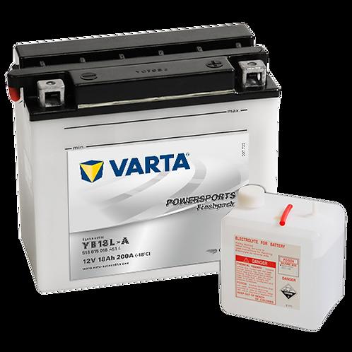 Акумулатор VARTA POWERSPORTS Freshpack 518 015 018 YB18L-A