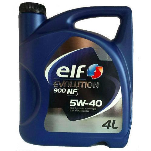 ELF EVOLUTION 900 NF 5W40 x4L