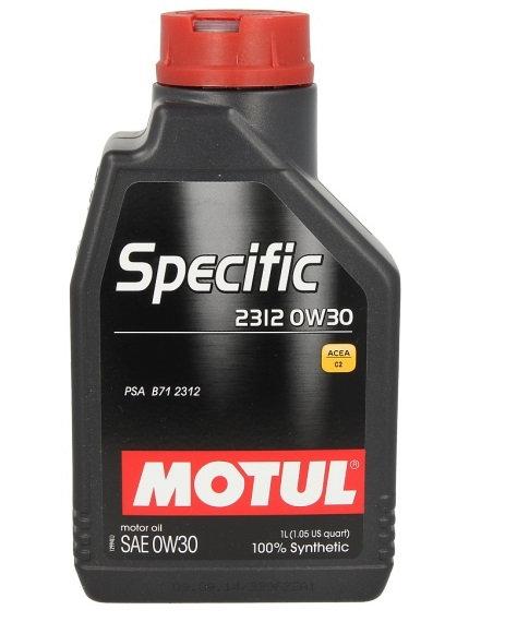 MOTUL SPECIFIC 2312 0W30 x1L