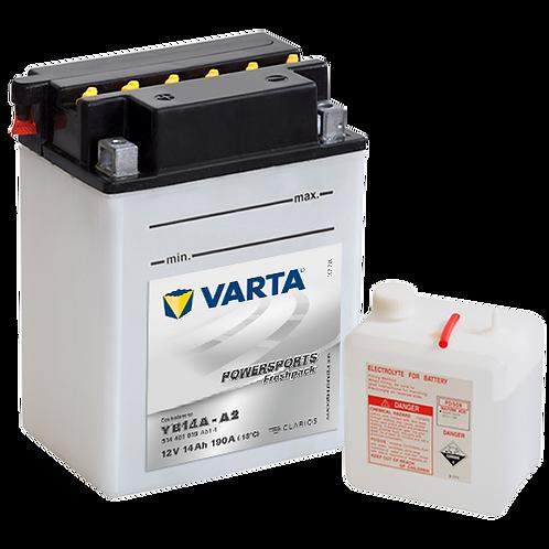 Акумулатор VARTA POWERSPORTS Freshpack 514 401 019 YB14A-A2