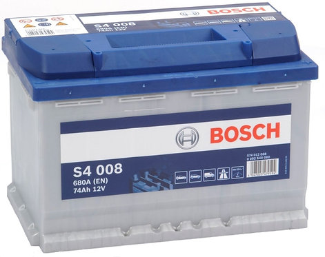 Акумулатор BOSCH S4 008