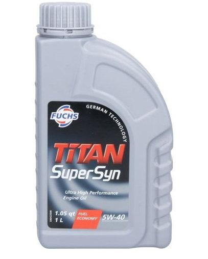 FUCHS TITAN SUPERSYN 5W40 x1L