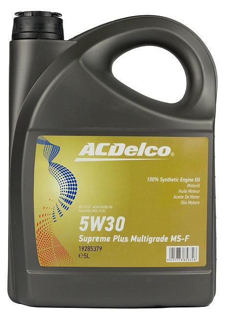 ACDelco 5W30 Supreme Plus Multigrade MS x5L