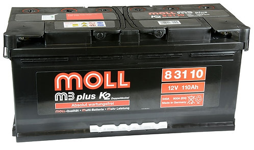 Акумулатор MOLL M3 Plus K2 83110