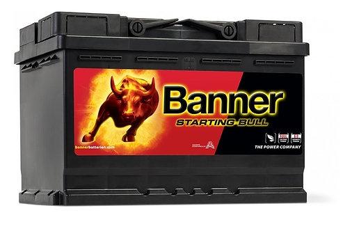 Акумулатор BANNER STARTING Bull 572 12