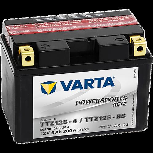Акумулатор VARTA POWERSPORTS AGM 509 901 020 TTZ12S-BS