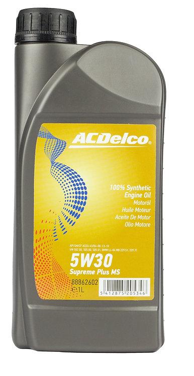 ACDelco 5W30 Supreme Plus MSLonglife II x1L