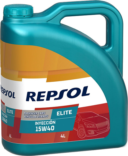 REPSOL ELITE INJECTION 15W40 x4L