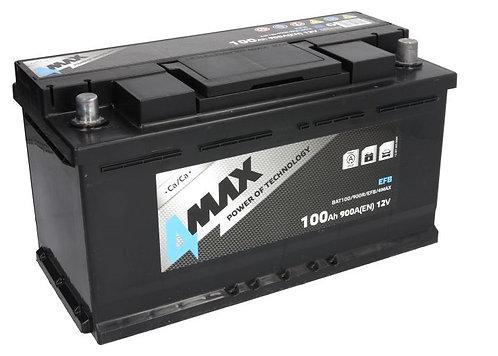 Акумулатор 4MAX BAT100/900R/EFB