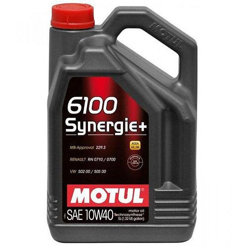 MOTUL 6100 SYNERGIE+ 10W40 x5L