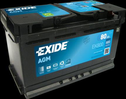 Акумулатор EXIDE Start-Stop AGM EK800