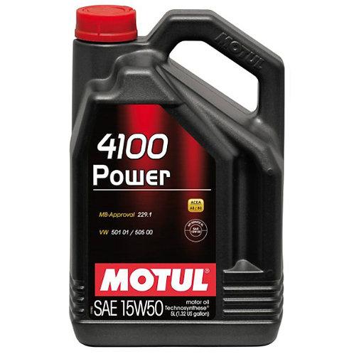 MOTUL 4100 POWER 15W50 x5L