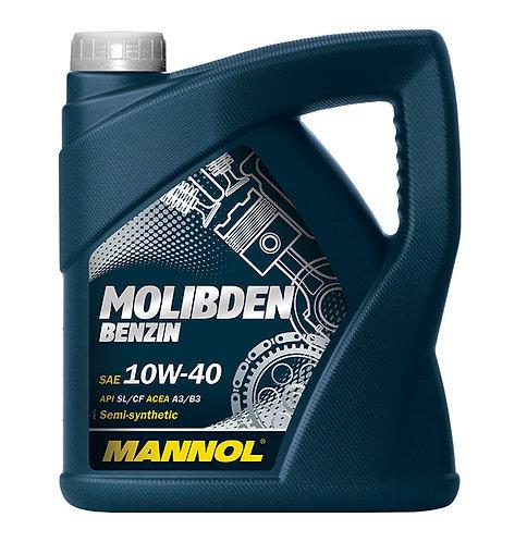 MANNOL MOLIBDEN BENZIN 10W40 x4L