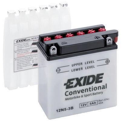 Акумулатор EXIDE Conventional YB5L-B