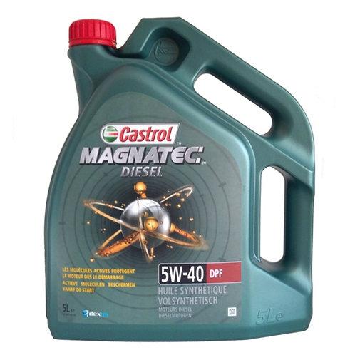 CASTROL MAGNATEC DIESEL 5W40 DPF x5L