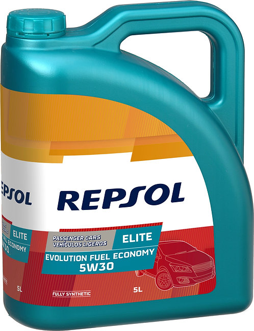 REPSOL ELITE EVOLUTION FUEL ECONOMY 5W30 x5L