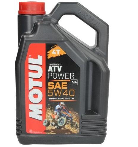 MOTUL ATV POWER 5W40 x4L