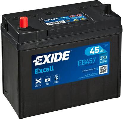 Акумулатор EXIDE Excell ** EB457