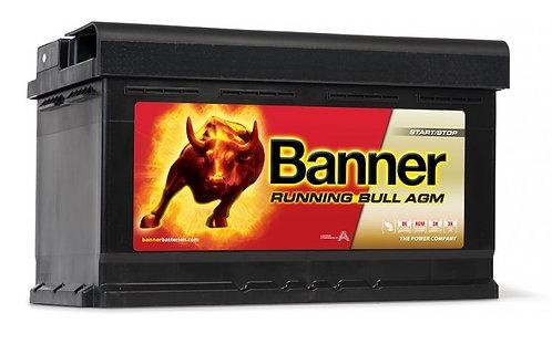 Акумулатор BANNER RUNNING BULL AGM 580 01