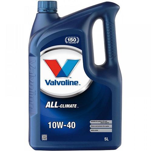 VALVOLINE ALL CLIMATE 10W40 x5L