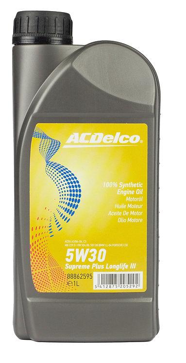 ACDelco 5W30 Supreme Plus Longlife III x1L