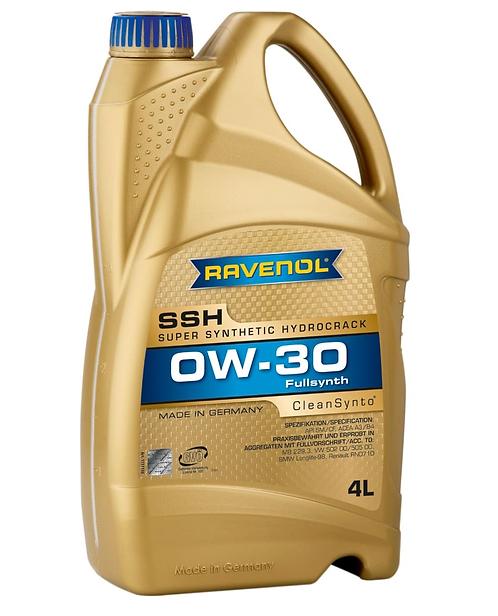 RAVENOL SSH 0W30 x4L