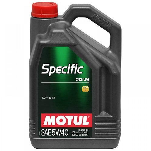 MOTUL SPECIFIC CNG/LPG 5W40 x5L