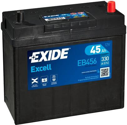 Акумулатор EXIDE Excell ** EB456