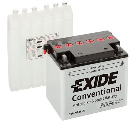 Акумулатор EXIDE Conventional E60-N24L-A Y60-N24L-A