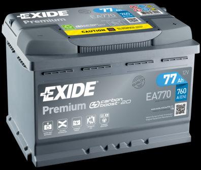 Акумулатор EXIDE Premium *** EA770