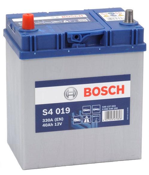 Акумулатор BOSCH S4 019
