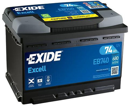 Акумулатор EXIDE Excell ** EB740