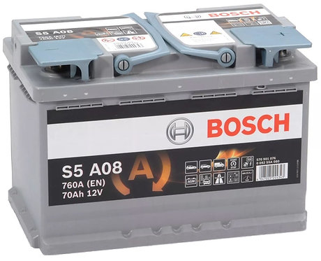 Акумулатор BOSCH AGM S5 A08
