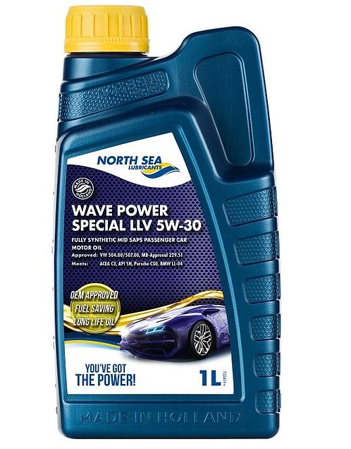 NORTH SEA WAVE POWER LLV 5W30 x1L