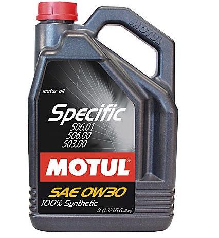 MOTUL SPECIFIC 506.01 0W30 x5L