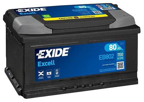 Акумулатор EXIDE Excell ** EB800