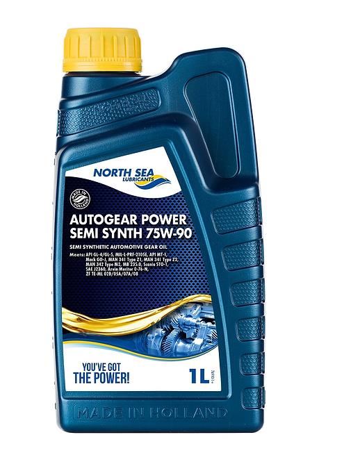 NORTH SEA AUTOGEAR POWER SEMI SYNT 75W90 x1L