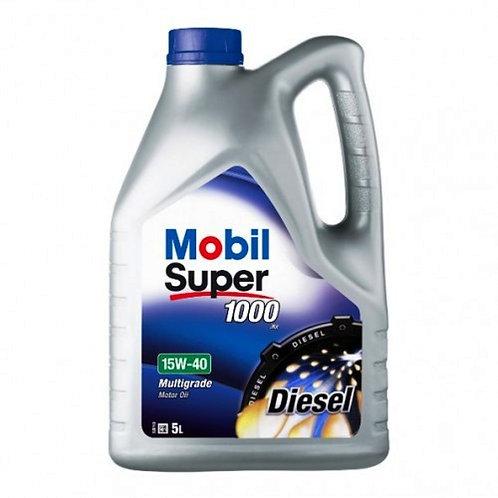 MOBIL SUPER 1000 X1 15W40 DIESEL x5L