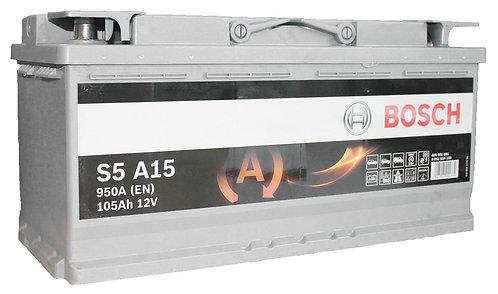 Акумулатор BOSCH AGM S5 A15