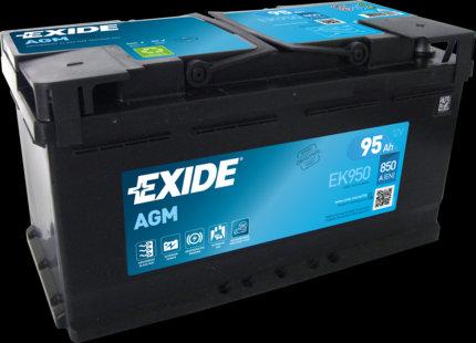 Акумулатор EXIDE Start-Stop AGM EK950