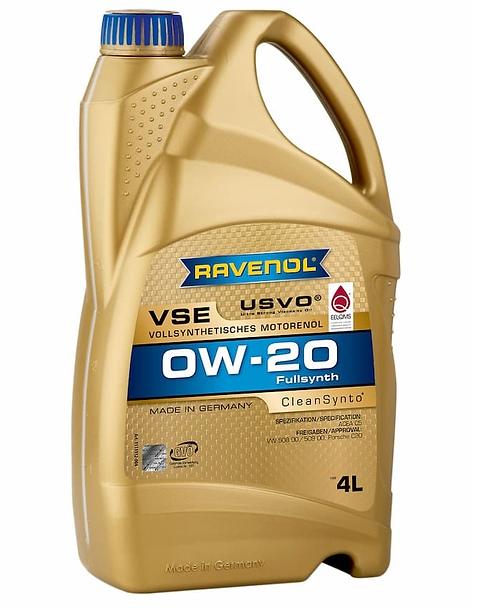 RAVENOL VSE 0W20 x4L