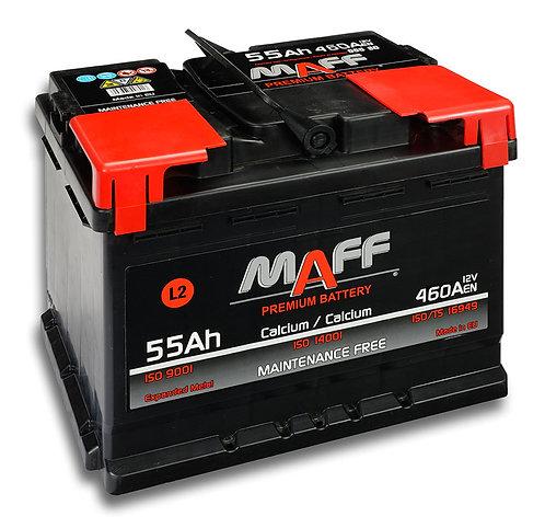 Акумулатор MAFF 55580 55Ah 460A