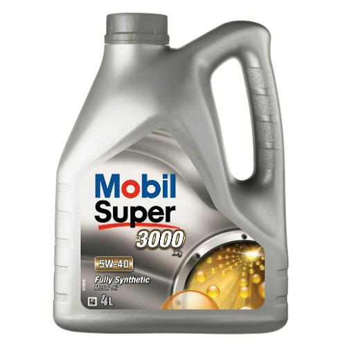 MOBIL SUPER 3000 X1 5W40 x4L